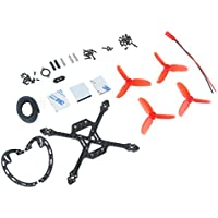 Crazepony 120mm Quadcopter Carbon Fiber Frame Kit with 2.7 Inch Propellers for Micro FPV Racing Drone Support 1103 1104 1105 1106 Brushless Motors etc