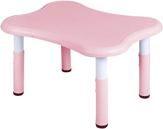 WFENG Juego de mesa y silla para niños de altura regulable ...