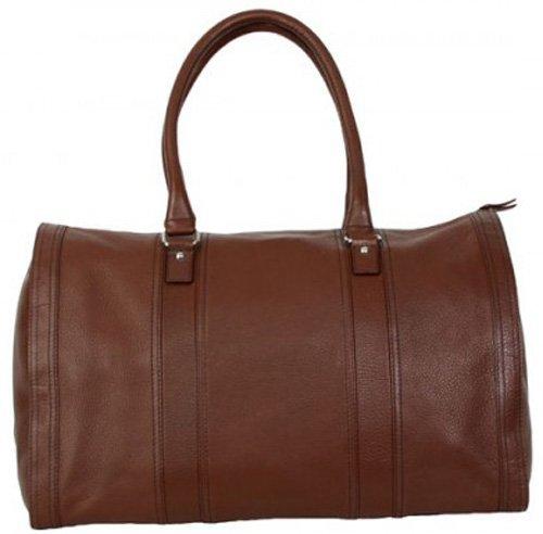 Hadaki Bombay Leather Collection City Duffel Shoulder Bag...