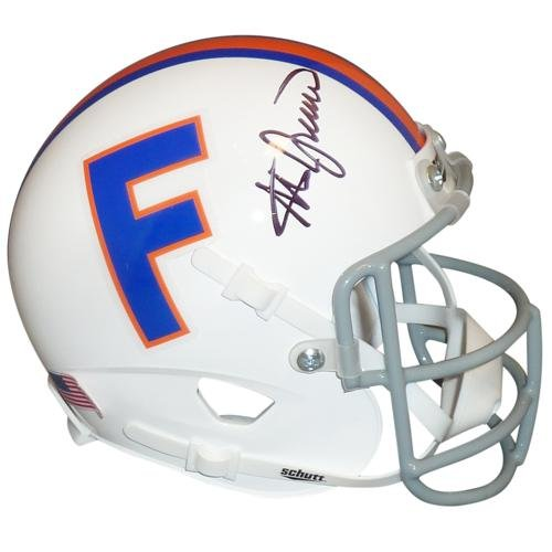 Steve Spurrier Autographed Florida Gators (Throwback) Mini Helmet (Florida Gators Throwback Helmet)