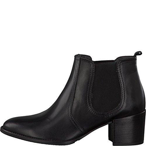 Tamaris 1-25381-27 Damen Stiefelette Black Leather