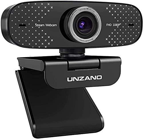 Unzano Full HD Computer Camera Streaming webcam