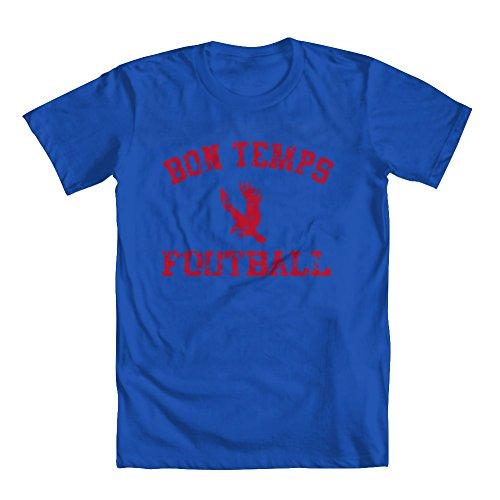 Bon Temps Football T-shirt - GEEK TEEZ Bon Temps Football Youth Girls' T-Shirt Blue Large