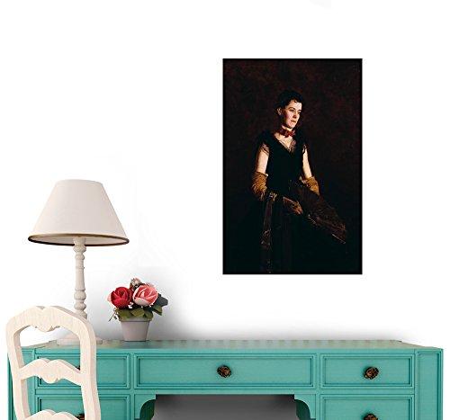 Letitia Wilson Jordan by Thomas Eakins Peel and Stick Wall Decal