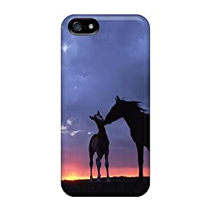 Premium Protection Lindos Cavalos Cases Covers For Iphone 5/5s- Retail Packaging