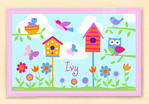 Olive Kids Birdie Personalized Placemat