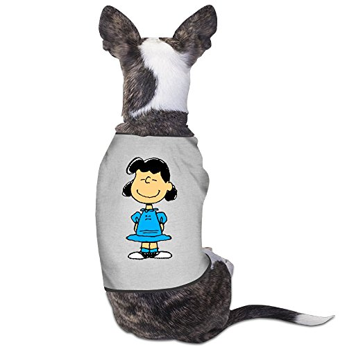 [Cute Lucy Van Pelt Cartoon Pet Dog T Shirt.] (Charlie Brown Schroeder Costume)
