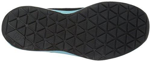 DC Womens Heathrow IA Skateboarding Shoe Black/Aqua