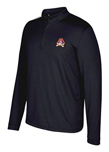 East Carolina Pirates Adidas NCAA Men's Spring 1/4 Zip Pullover Wind Shirt Camicia