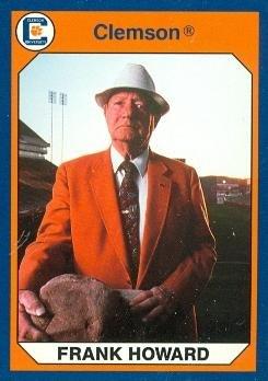 Frank Howard Football Card (Clemson) 1990 Collegiate Collection #113