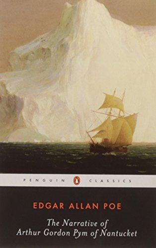 book cover of The Narrative of Arthur Gordon Pym of Nantucket