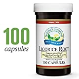Nature's Sunshine Licorice Root, 100 Capsules | Powerful Support for The Glandular System, Specifically The Adrenal Glands, and May Help The Liver