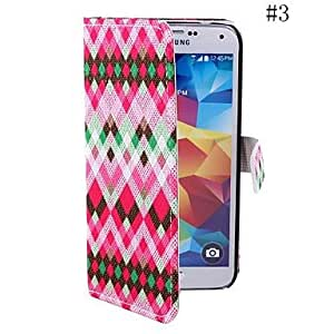 DUR Coway Geometric Color Diamond Sticking Cloth Mobile Phone Holster Case for Samsung S2 i9100(Assorted Color) , 4#