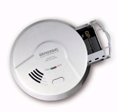 Universal Security Instruments 2975 Battery-Operated Ionization Smoke and Fire Alarm by Universal Security Instruments