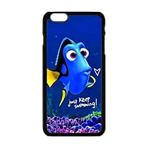 Turtle Rock blue lovely fish Cell Phone Case for iPhone plus 6 Kimberly Kurzendoerfer