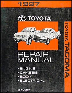 1997 toyota tacoma repair manual toyota motor corporation amazon rh amazon com toyota tacoma owners manual 2014 tacoma service manual