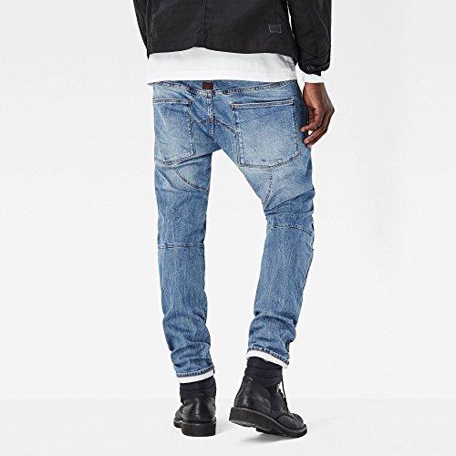 Jeans Aged Slim 071 Blu Raw medium Uomo star G 1wx0qEtf