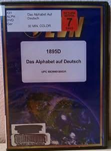 Das Alphabet auf Deutsch (German) DVD