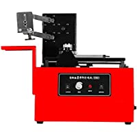 BestEquip Pad Printer Machine 10-60 Strokes/ Mins Desktop Pad Printing Machine 15 x 30 mm Electric Pad Printer for Printing T-shirts Watches Lighters