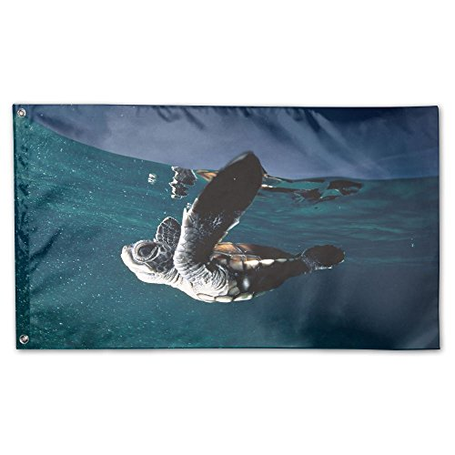 Garden Flag Skyscape Turtles Outdoor Yard Home Flag Wall Lawn Banner Polyester Flag Decoration 3