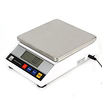 Loma té 7500 g/0.1g Báscula Digital Precisión Balanza de recuento (Báscula industrial