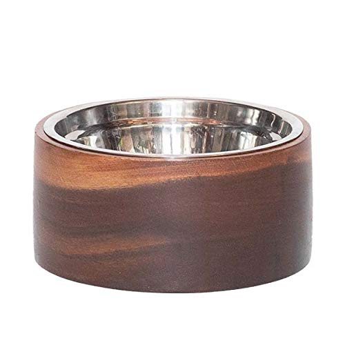 Unleashed Life Anderson Collection – Acacia Wood Pet Dog & Cat Food ()