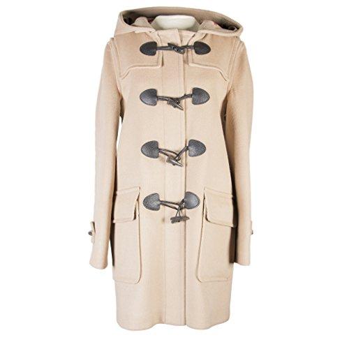 Burberry Brit Women's Wool Duffle Coat Light Brown