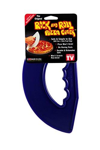 Rock'n Roll Pizza Cutter Cobalt Blue (Blue Cutter Pizza)