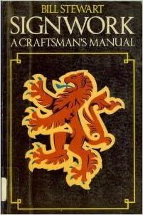 Book Signwork: a Craftsman's Manual