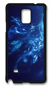 MOKSHOP Adorable Hyun eye blue Hard Case Protective Shell Cell Phone Cover For Samsung Galaxy Note 4 - PCB