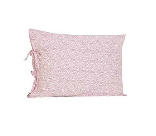 Cotton Tale Designs Plain Pillow Case with Ties, Girly - Girly Pillow