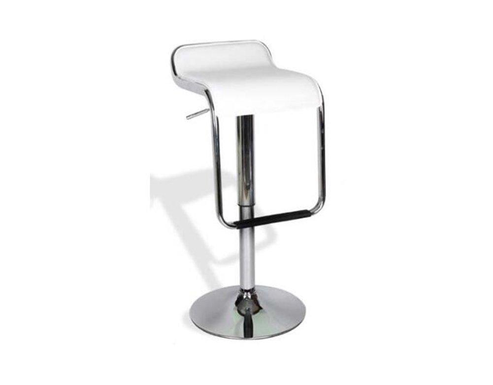 GRJH® バースツール、バーアイロンハイスツール回転カフェカウンターハイバックウッディークリエイティブレトロ背の高いフロントデスクキッチンチェアヨーロッパ最高6080cm 安全性,快適 (色 : 白) B07D49B654白