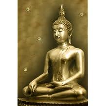Golden Buddha Journal: 160 Page Lined Journal/Notebook
