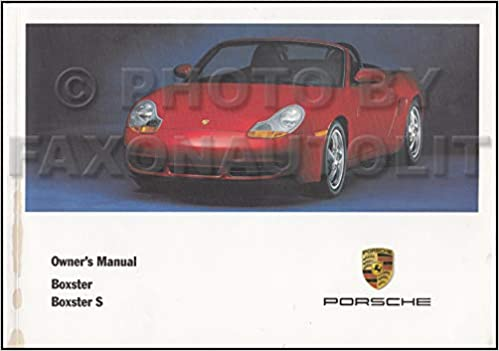 2001 Porsche Boxster Owners Manual Original Paperback – 2001