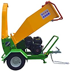 Nova Tractor Wood Chipper Shredder GTS1500 up to 4 inch Diameter, Driven by 420cc Briggs & Stratton XR2100 Engine