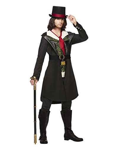 Spirit Halloween Adult Jacob Frye Costume - Assassins Creed,Black,M (Jacob Black Halloween)