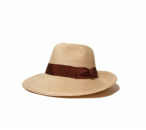 Gottex Women's Alhambra Packable Fedora Sun Hat, Rated UP...