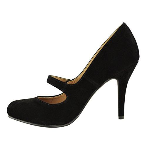 cinturino Basse D MEDIO alla alto Thirsty caviglia tacco DONNE Fashion xYqUpHBE
