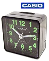 CASIO TQ140 Travel Alarm Clock - Black (...