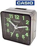 CASIO TQ140 Travel Alarm Clock - Black (Discontinued by Manufacturer)