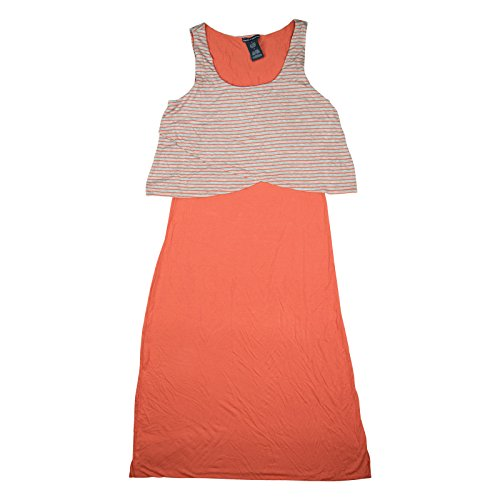 H Mist Pier Womens amp Theodore Coral Maxi Sleeveless Chelsea Dress Grey 8vFpwqw