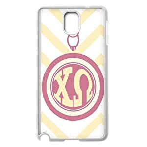 Chi Omega Chevron Samsung Galaxy Note 3 Cell Phone Case White toy pxf005_5764019