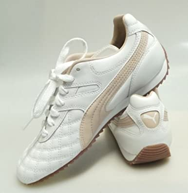 Puma Del Mundo LS WN'S Mädchen Sportschuhe Weiß Rosa