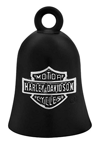 Harley-Davidson Bar & Shield Logo Motorcycle Ride Bell, Black HRB059