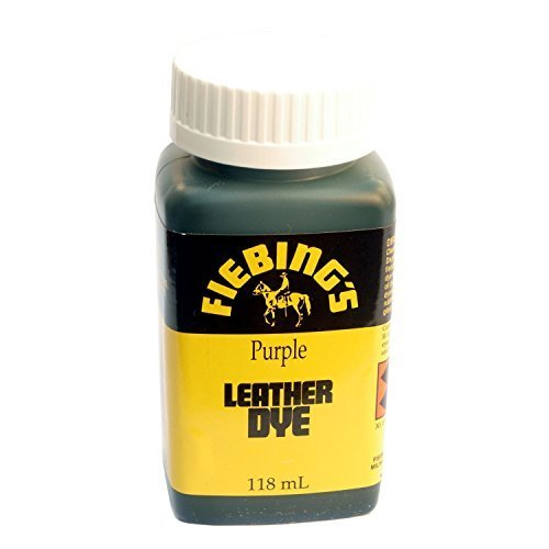 Fiebings - Leather Dye, Alcohol Based, 4 Fl. Oz. 118 Ml - 27 Colors Purple