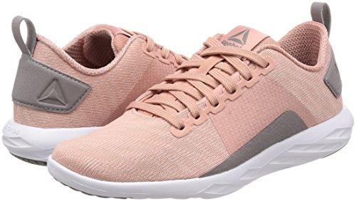 Walk De Rosa chalk Astroride Deporte Reebok 000 Pink Zapatillas white Mujer powder RO5Yw