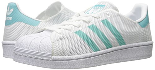 W Superstar Adidas White Mint white Basses easy Femme Sneakers z5dqOgndw