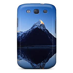 High Quality Shock Absorbing Case For Galaxy S3-mountains