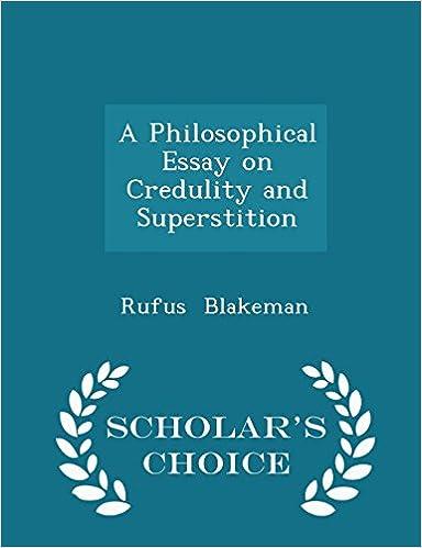 Ilmaisia kirjoja verkossa ladataan A Philosophical Essay on Credulity and Superstition - Scholar's Choice Edition Suomeksi PDF ePub iBook