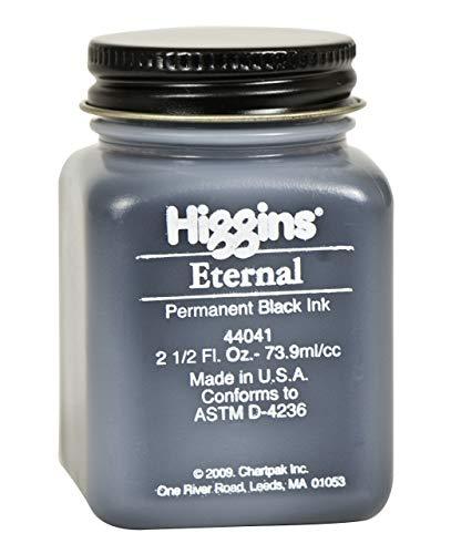 Higgins Black Eternal Ink, 2.5 Oz Bottle (44041)